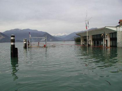 Alluvione del 2000 nel VCO, Imbarcadero di Verbania Pallanza