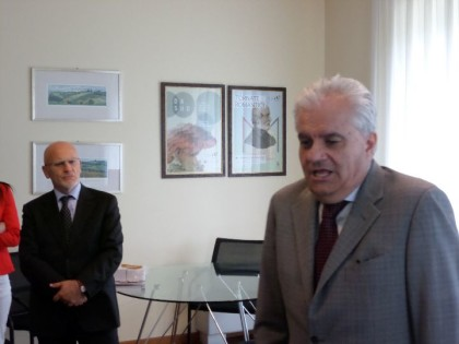 Michele Basilicata e Iginio Olita.