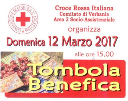 tombola croce rossa