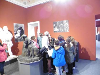 I BAMBINI DISEGNANO L'ARTE AL MUSEO
