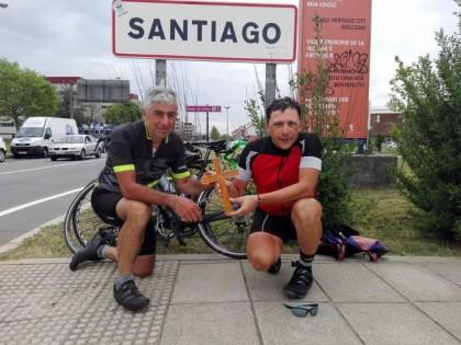 VERBANIA-SANTIAGO: L'ARRIVO A SANTIAGO !