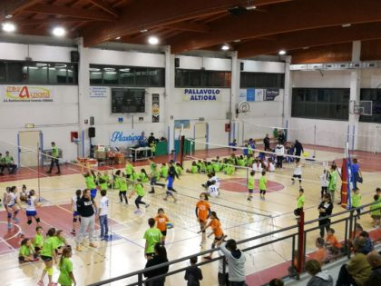 AL VIA A VERBANIA LA MINIVOLLEY CUP