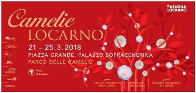 """BELLEZZE FLOREALI E MUSICA A LOCARNO DAL 21 AL 25 MARZO PER LA 21a EDIZIONE DI """"CAMELIE LOCARNO"""""""