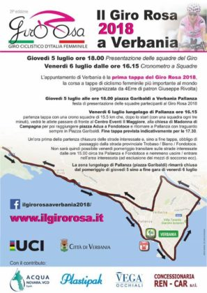 9b1d109e840c La zona del lungolago di Pallanza in piazza Garibaldi rimarrà chiusa dal pomeriggio  di giovedì 5 sino a fine gara di venerdì 6 luglio.