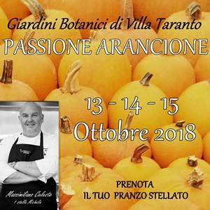 Passione Arancione Villa Taranto