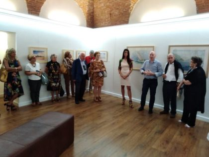 UNA INTERESSANTE MOSTRA ALLA VERNISSAGE ART GALLERY DI INTRA