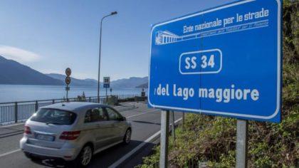 LA RICHIESTA DI EMERGENZA PER LA STATALE 34 DEL LAGO MAGGIORE
