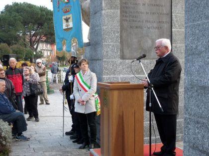 L'intervento di Mario Agnesina, presidente della Soms di Suna.