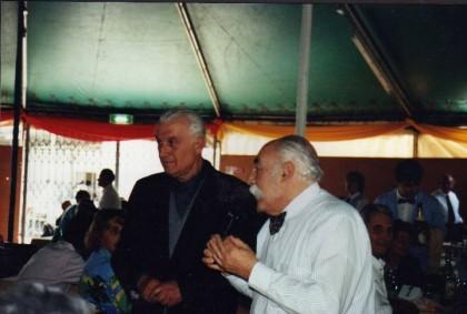 Don Rino con il sindaco Imperiale.