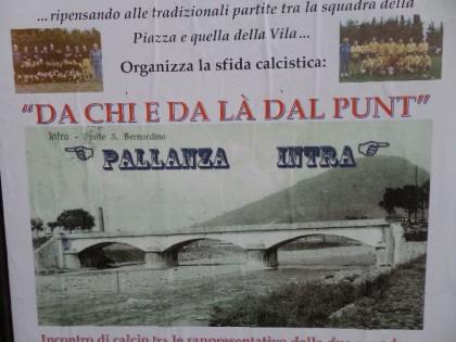 """""""DA CHI E DA LA' DAL PUNT"""": TORNA LA STRACITTADINA PALLANZA-INTRA"""