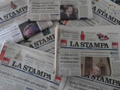 """NEL PERCORSO FORMATIVO DEL LICEO CAVALIERI UN INCONTRO CON IL DIRETTORE DE """"LA STAMPA"""""""