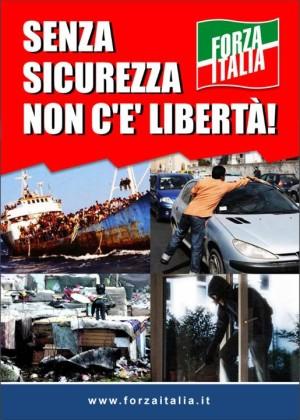 security day forza italia