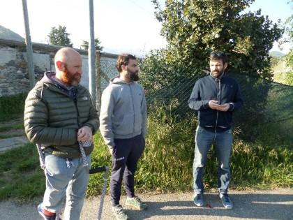 Renato Brignone, Andrea Marconi e Ludovico Martinella