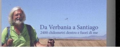 IN UN LIBRO 2.400 CHILOMETRI DA VERBANIA A SANTIAGO