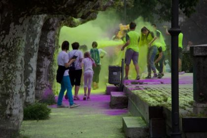 "ARRIVA A VERBANIA LA ""COLOR RUN"""
