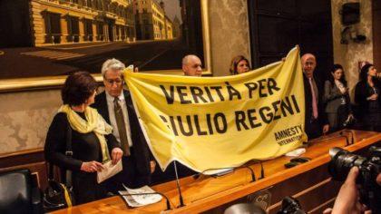 AMNESTY INTERNATIONAL TORNA A CHIEDERE VERITA' E GIUSTIZIA PER REGENI