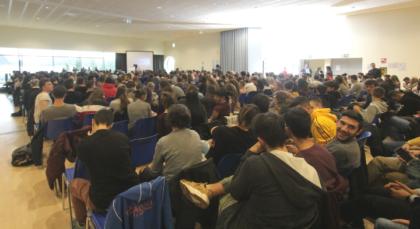 OLTRE 500 STUDENTI AL CONVEGNO DELL'UNIONE INDUSTRIALE