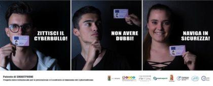 DALL'UFFICIO SCOLASTICO PROVINCIALE PROGETTO CYBERBULLISMO E PATENTI DI SMARTPHONE