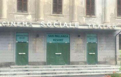 L'EX CINEMA SOCIALE DI PALLANZA VERSO LA NUOVA DESTINAZIONE ALBERGHIERA