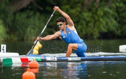 Carlo Tacchini, in canoa sulla vetta del mondo